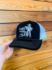 Buck Atom Embroidered Trucker Hat