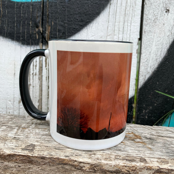 We saw the same sunset Mug