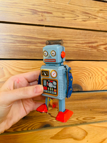 Mini Radiocon Wind Up Robot