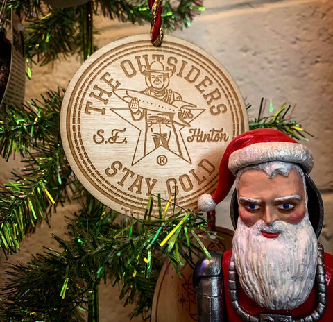 The Outsiders House Museum and Buck Atom Limited Edition Ornament