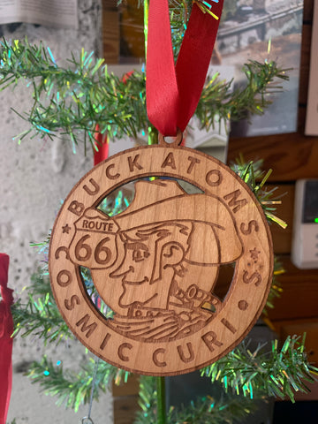 Buck Atom Logo Ornament