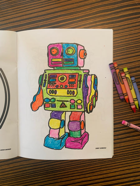 Buck Atom Coloring Book