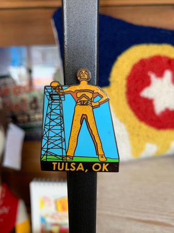 Golden Driller Magnets
