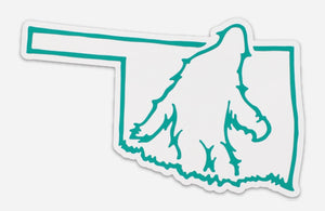 Bigfoot Oklahoma Sticker
