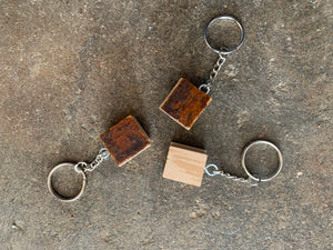 Cain's Ballroom Keychain from Original hardwood floor