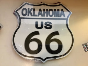 Route 66 metal Shield