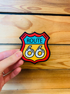 Route 66 Retro Magnet