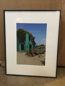 """Station"" framed 5x7 by Liz Huckleby"