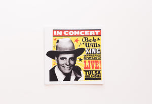 Bob Wills In Concert Sticker