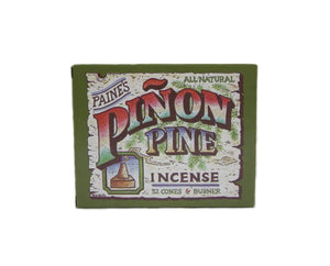 Pinon Pine Incense 32 Cones & Burner