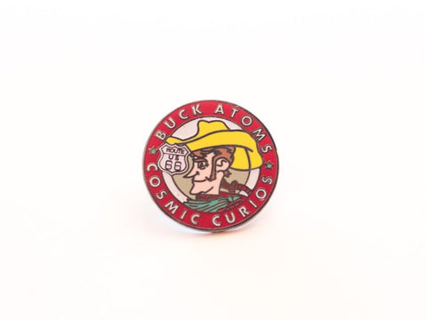 Buck Atom's Cosmic Curios on 66 Lapel Pin