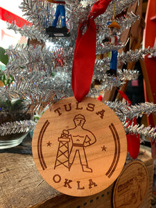 Driller ornament