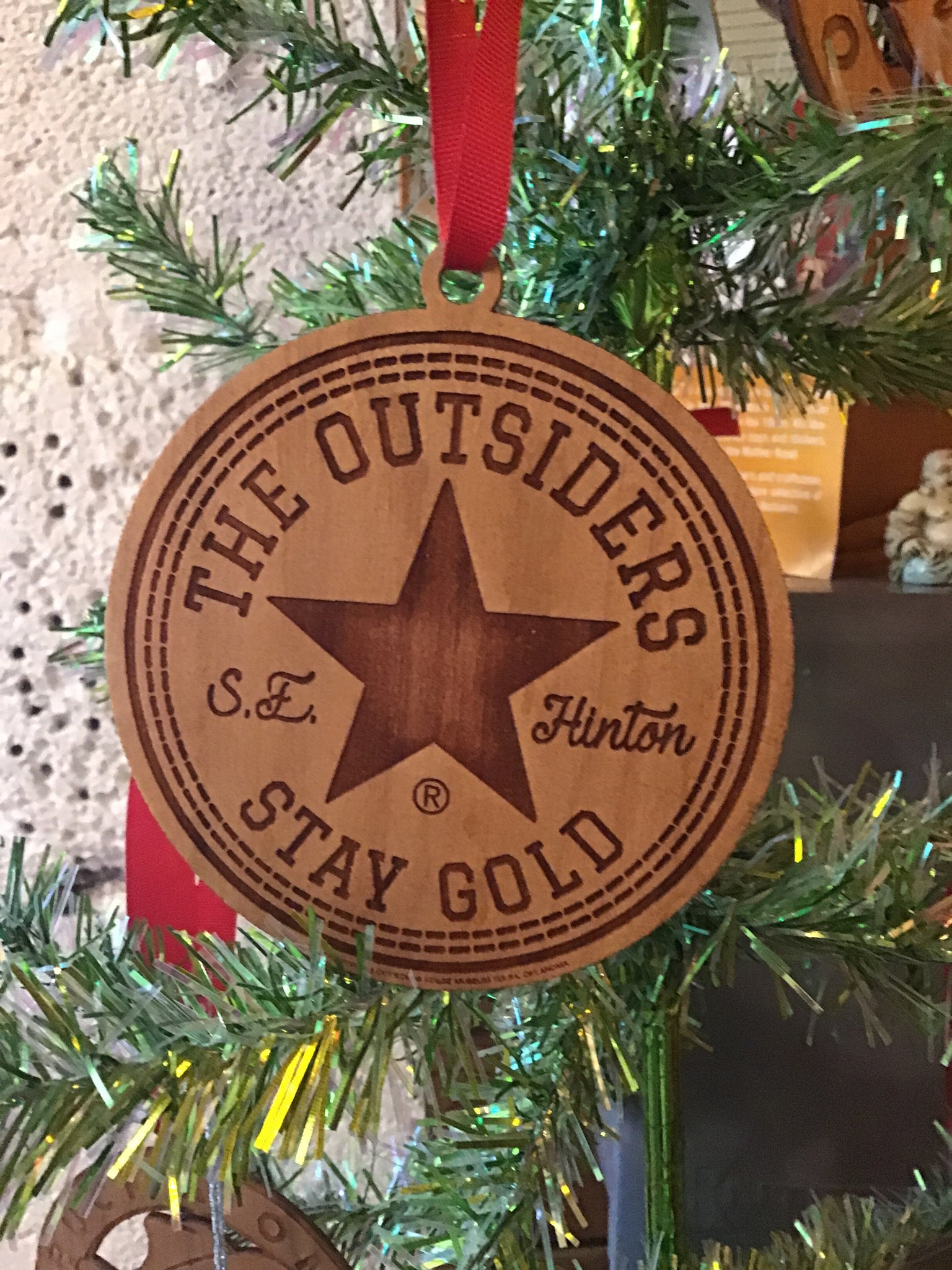 The Outsiders Stay Gold Ornament