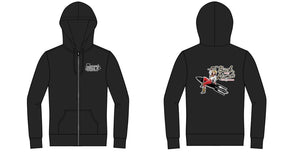 Pin Up Buck Atom ZIP Hoodie