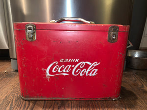 Original 1940's Coca Cola cooler