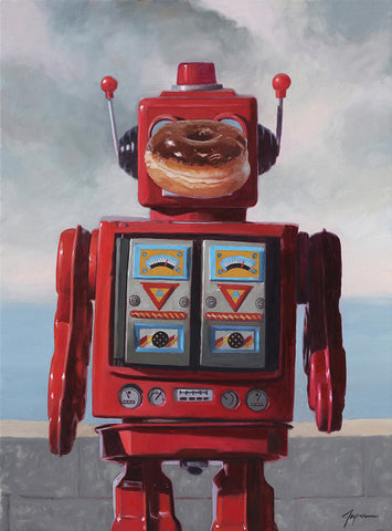 Son of Robot Print by Eric Joyner