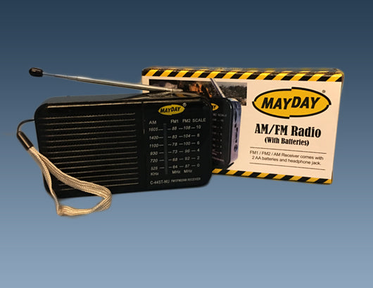 AM/FM Radio with Batteries