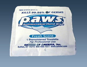 S7256 Antimicrobial Wipe, 100/bx