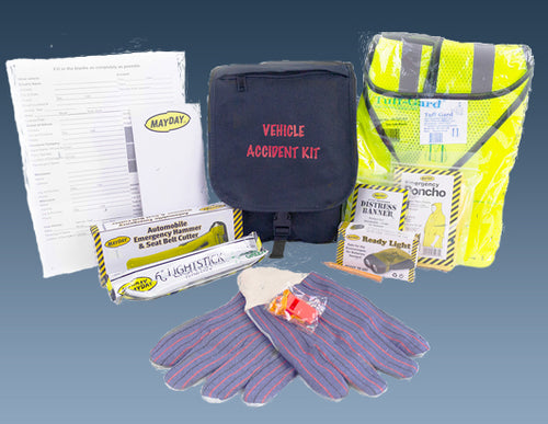 15 Piece Vehicle Accident Kit