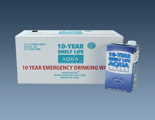 W9314 10-Year Aqua Literz – 1000 ML (33.8 oz)