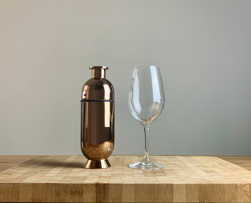 Trombone Cocktail Shaker Copper - Nick Munro