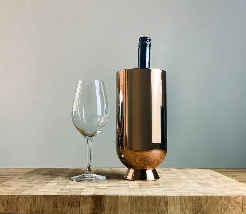 Trombone Wine Cooler Copper - Nick Munro