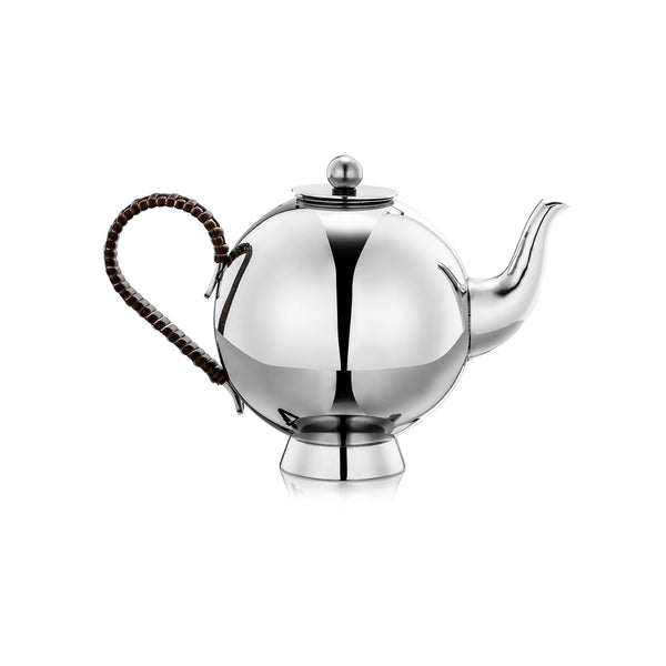 Spheres Tea Infuser Large Wicker Handle - Nick Munro