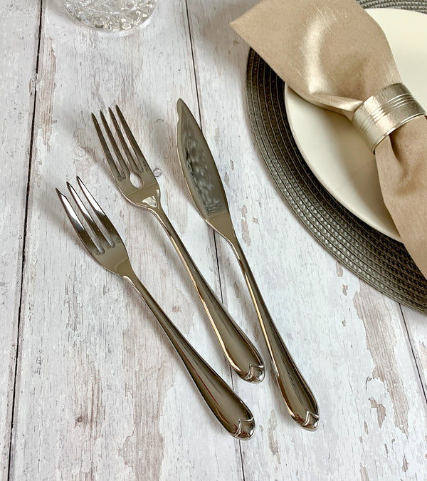 Venezia Fish Fork - Set of 6 - Nick Munro
