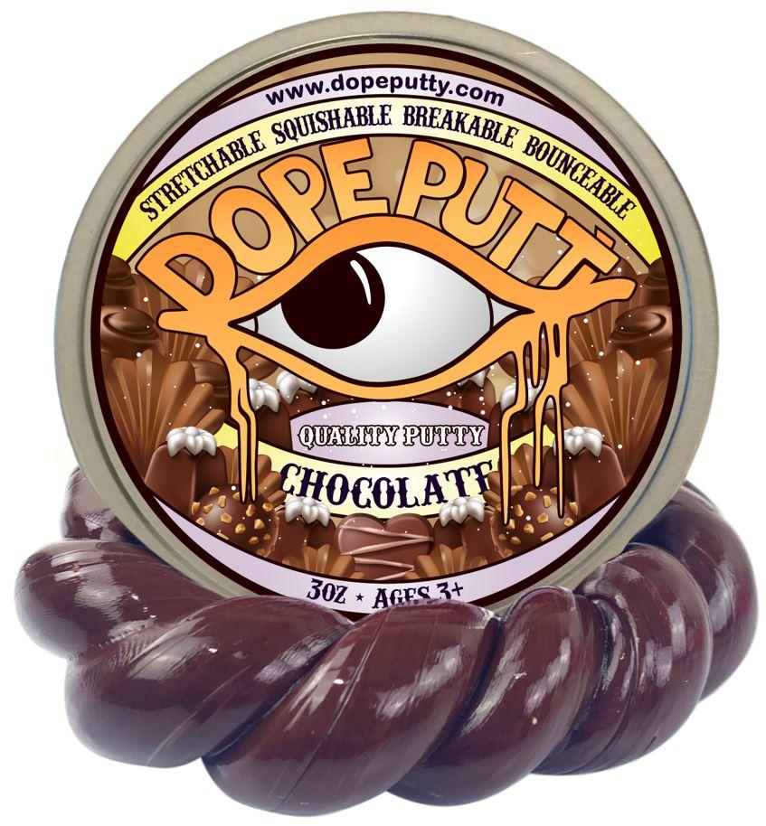 chocolate putty scented dope putty valentines