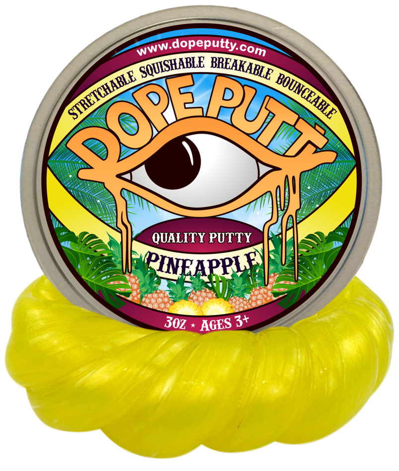 dopeputty dope putty pineapple