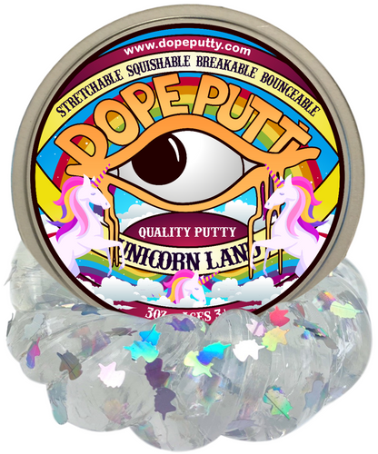 unicorn land tail dope putty dopeputty