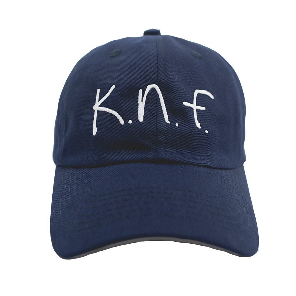 GREY BRIM K.N.F. HAT