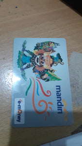 E money card Mandiri bank