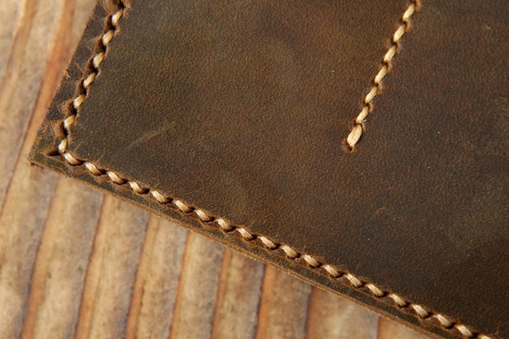 Distressed Leather Travel Journal Cover For A5 Journals - Vintage Rebellion