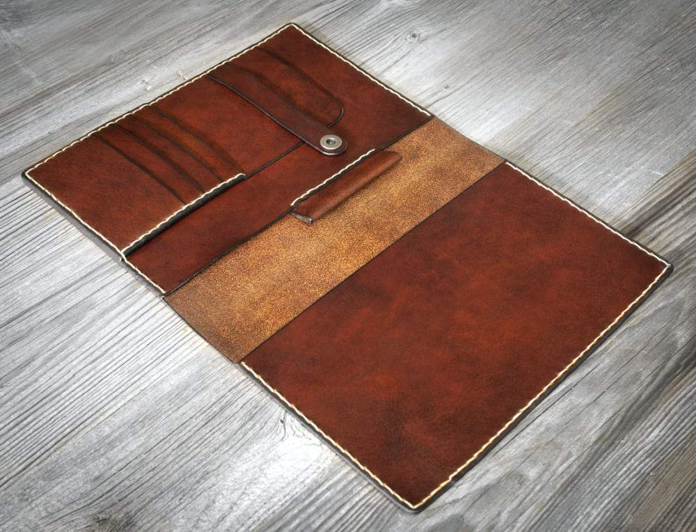 Italian Leather Travel Journal Cover For A5 Journals - Vintage Rebellion