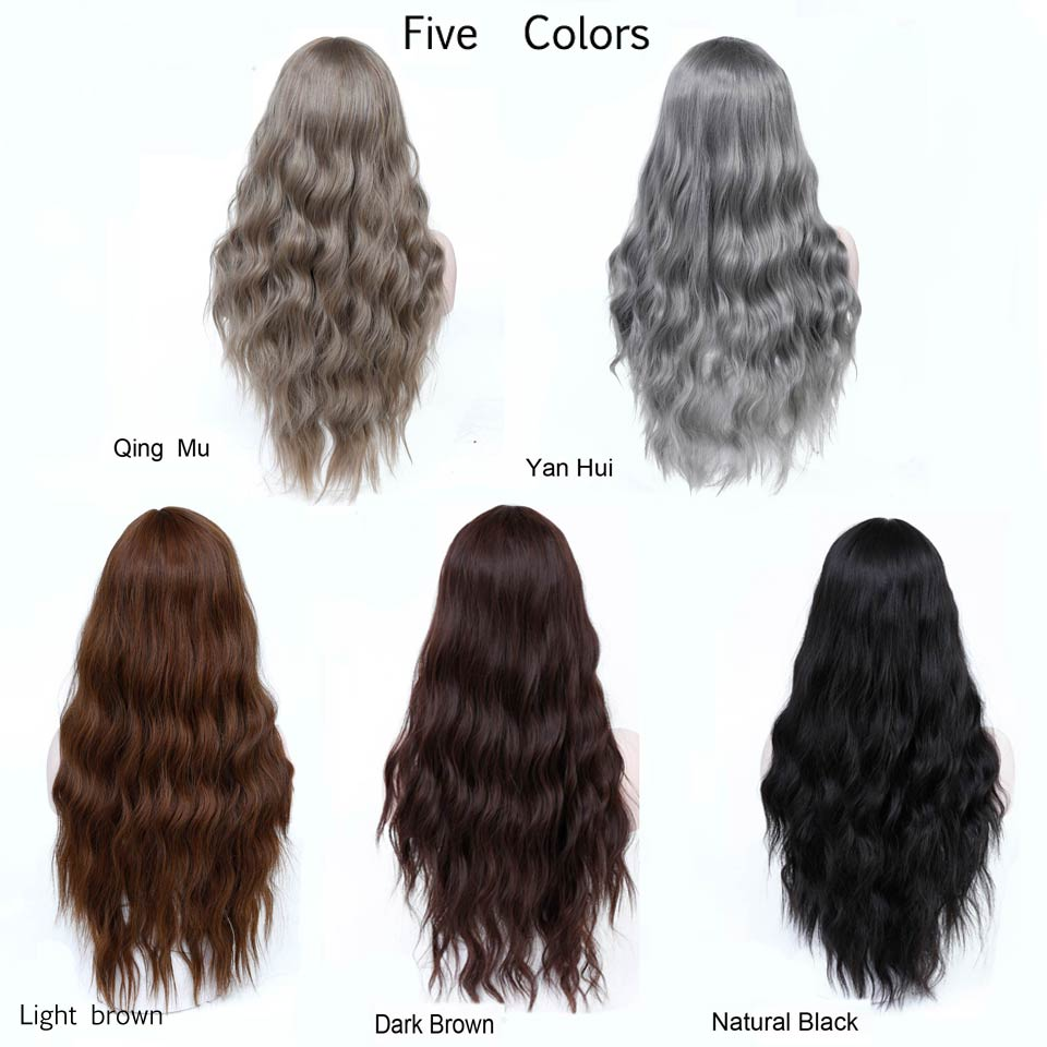 Best Long Brown Hair Wigs African American Kinky Curly Wigs For Women Expresshop Net