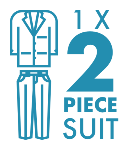 Dry Cleaning: 2 Piece Suit