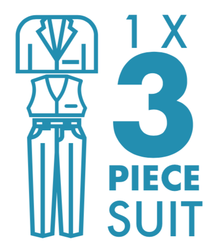 Dry Cleaning: 3 Piece Suit