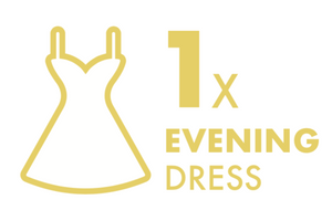 Dry Cleaning: 1 Evening Dress