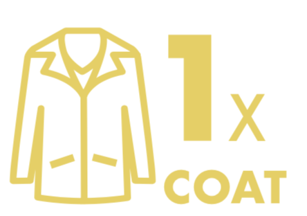 Dry Cleaning: 1 Winter Coat