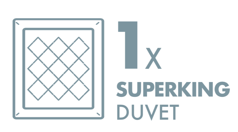 Dry Cleaning: 1 Superking Duvet