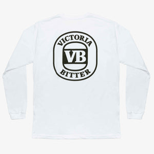 Very Best Long Sleeve Tee White