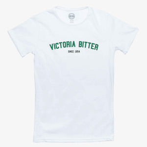 Collegiate Tee White