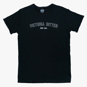Collegiate Tee Black