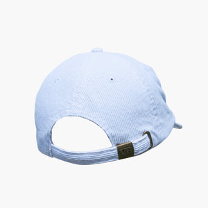 Big White Cord Cap