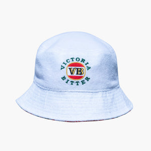 Reversible Bucket Hat - Terry Towelling/Christmas Print