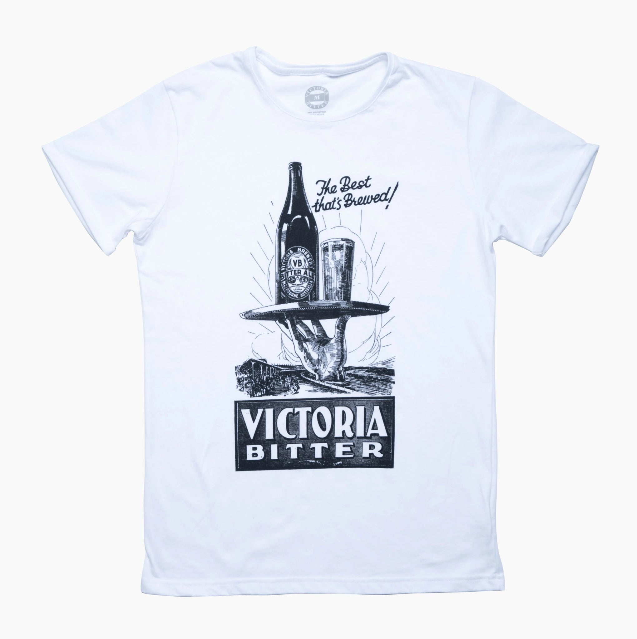 Best That's Brewed Tee White