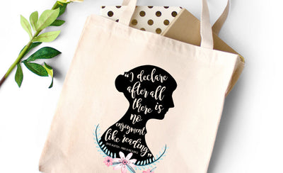 Book Tote Bags for Book Lovers