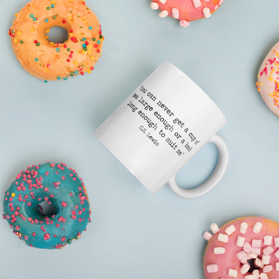 Design Your Own Book Quote Mug
