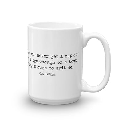 Book Quote Coffee Mug